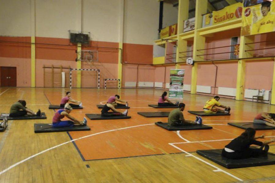 Yoga at Urban Boot Camp Macedonia