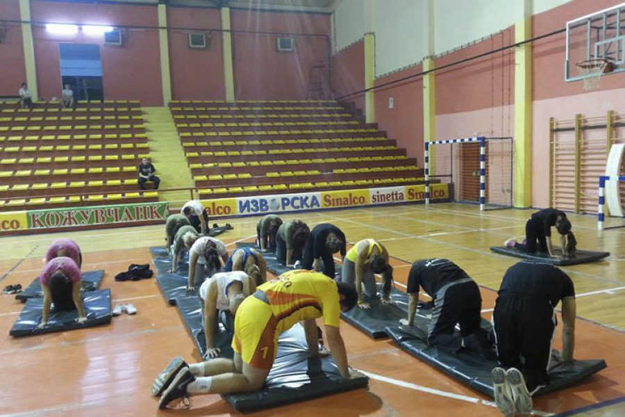 Yoga at Urban Boot Camp Macedonia