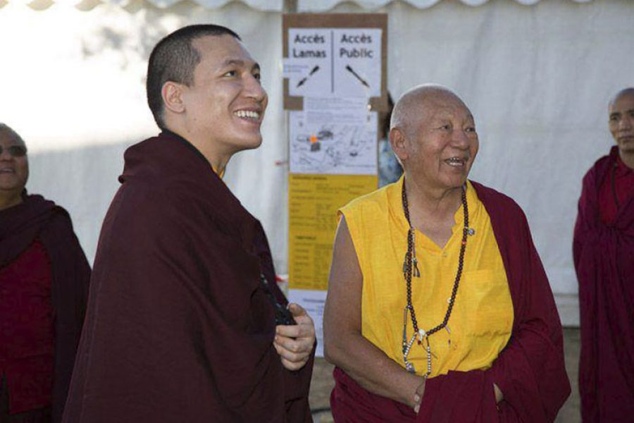 Susret sa 17. Gyalwa Karmapa Thaye Dorjeom, Montchardon, Fr